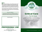 Critical Care - Pet Owners Guide
