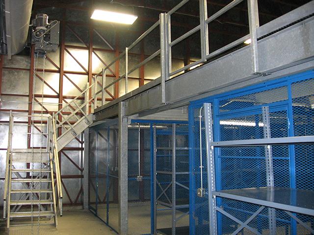Mezzanine Storage 1