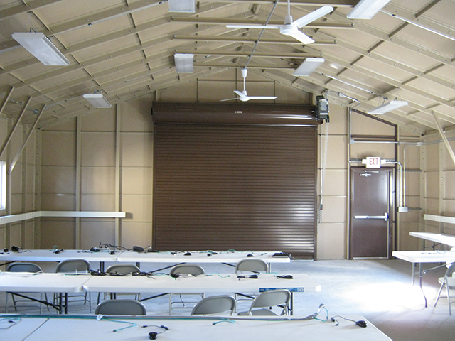 Interior Training Building 1