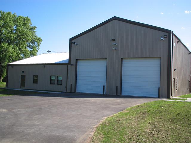 Vehicle Maintenance Building 4