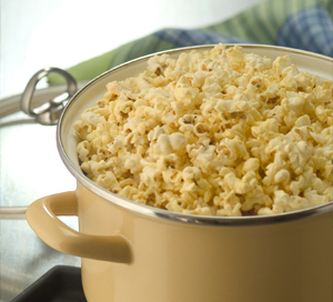 perfect homemade stovetop popcorn