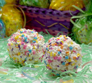 Marshmallow Popcorn Ball Recipe for Kids