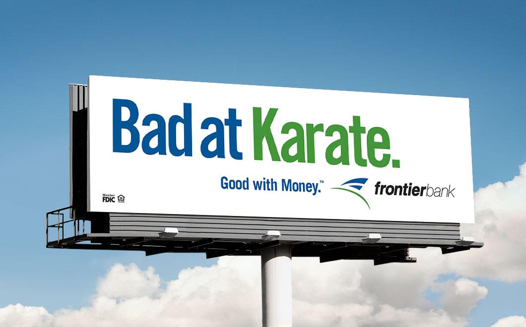 Frontier Bank Advertising Agent