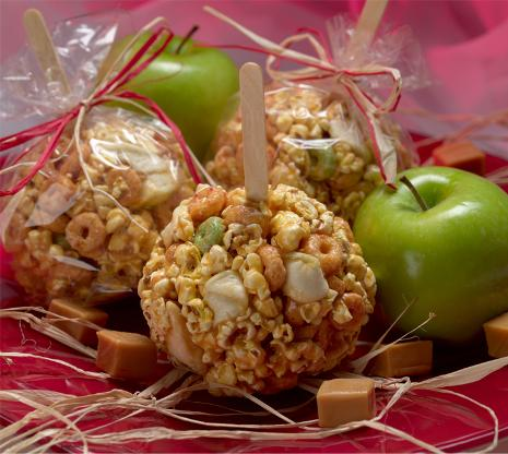 Caramel Apple Popcorn Crunch Recipe
