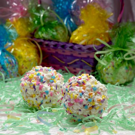 Marshmallow Popcorn Ball Recipe for Kids Recipe