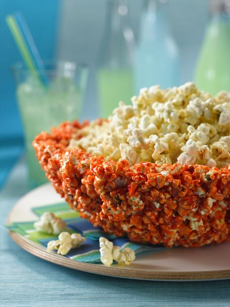 Edible Popcorn Party Bowl Recipe