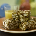 Tropical Fruit & Nut Popcorn Bars